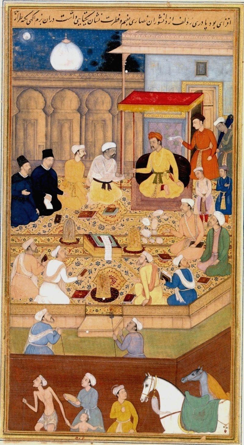 Dabistan - jesuits in Akhbar's court